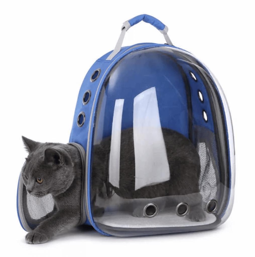 Рюкзак-переноска для котов и собак с прозрачной стенкой