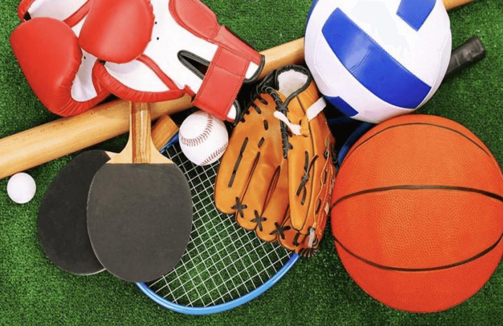 Спортивные товары из Китая