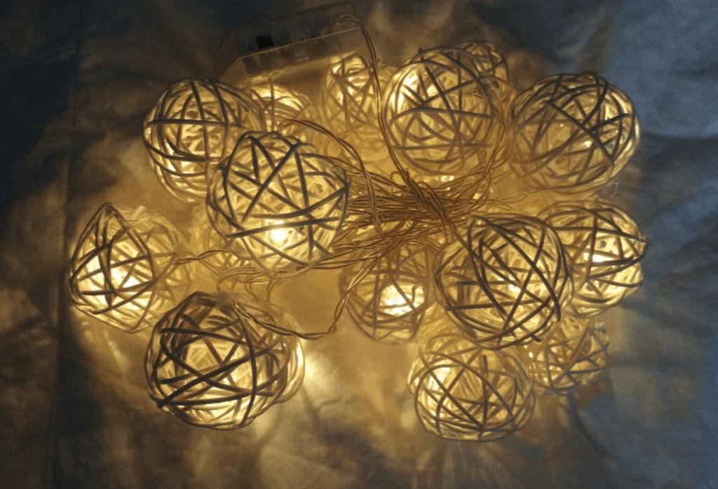 Новогодние лампочки из Китая