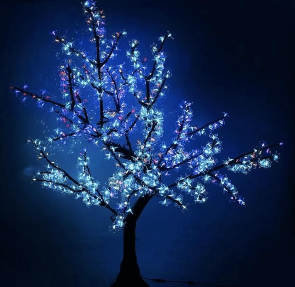 Новогодние светодиодные ветви