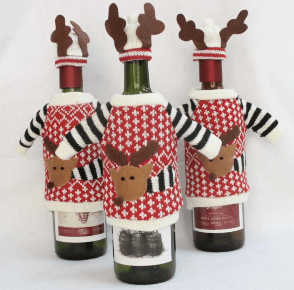 Костюмчики для бутылок вина
