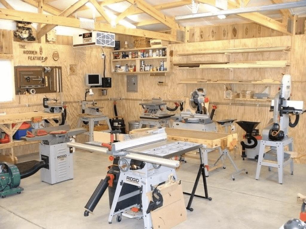 Станочное производство в гараже