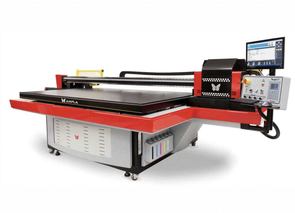 Промышленный планшетный принтер
