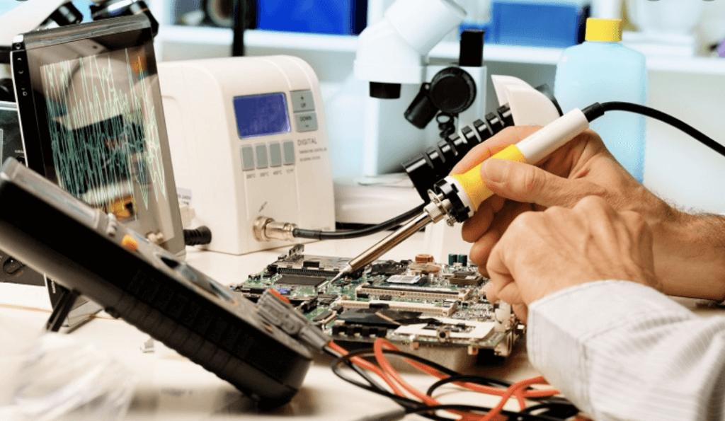 Станок для ремонта мобильных телефонов